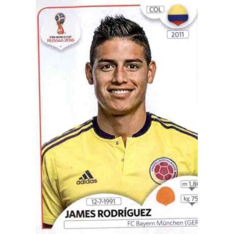 James Rodríguez Colombia 643 Colombia