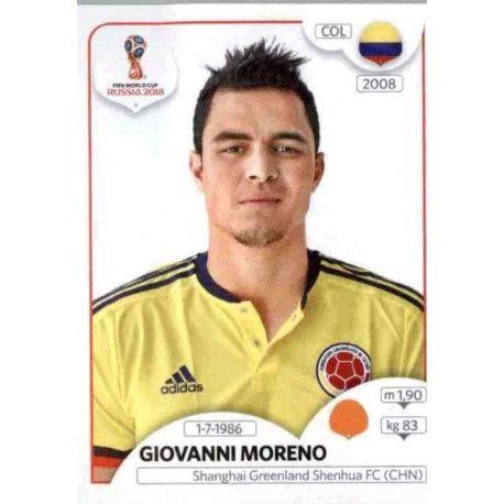 Giovanni Moreno Colombia 644 Colombia