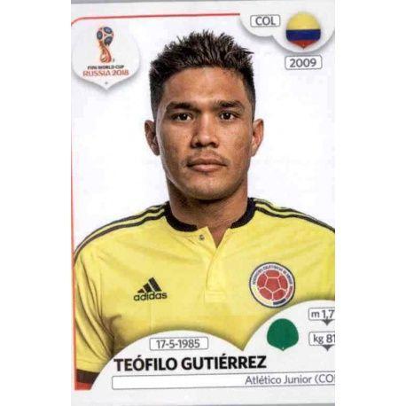 Teófilo Gutiérrez Colombia 647 Colombia