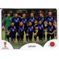 Alineación Japón 653