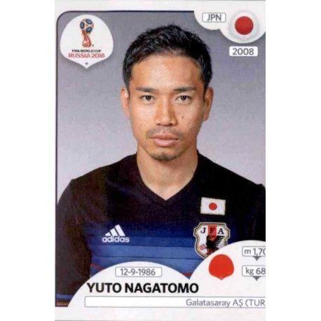 Yūto Nagatomo Japón 657 Japón