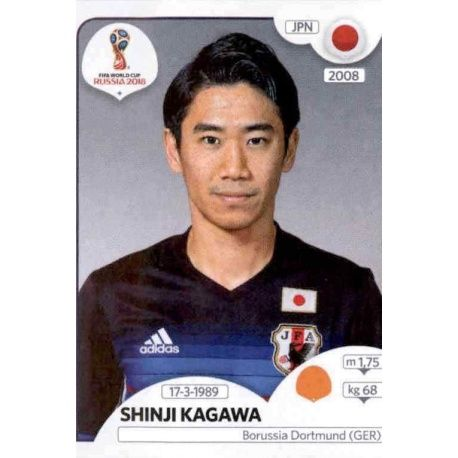 Shinji Kagawa Japón 663 Japón
