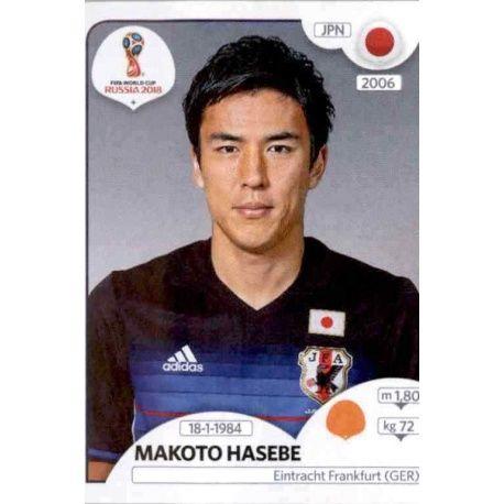 Makoto Hasebe Japón 664 Japón