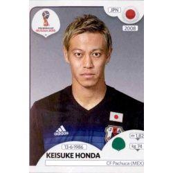 Keisuke Honda Japón 666