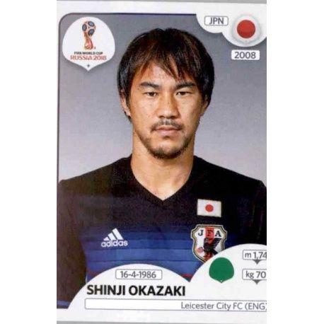 Shinji Okazaki Japón 669 Japan