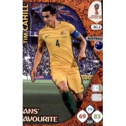 Tim Cahill Fans Favourite 362 Adrenalyn XL World Cup 2018