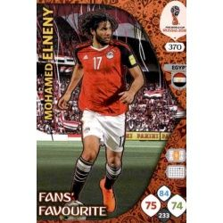 Mohamed Elneny Fans Favourite 369 Adrenalyn XL World Cup 2018