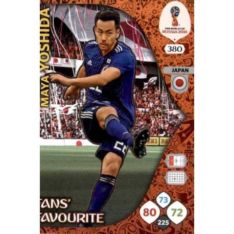 Maya Yoshida Fans Favourite 379 Adrenalyn XL World Cup 2018