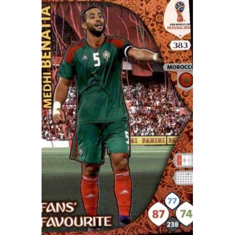 Medhi Benatia Fans Favourite 382 Adrenalyn XL World Cup 2018