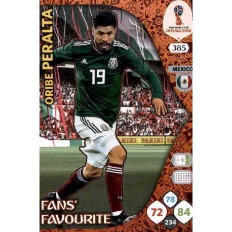 Oribe Peralta Fans Favourite 384 Adrenalyn XL Russia 2018