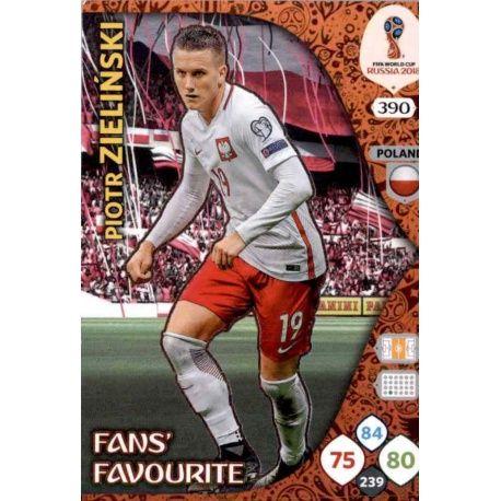 Piotr Zieliński Fans Favourite 389 Adrenalyn XL Russia 2018