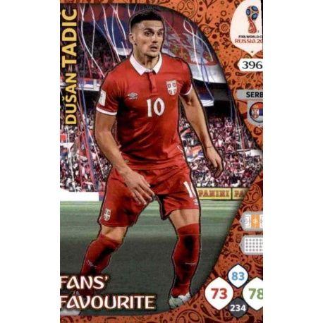 Dušan Tadić Fans Favourite 395 Adrenalyn XL World Cup 2018