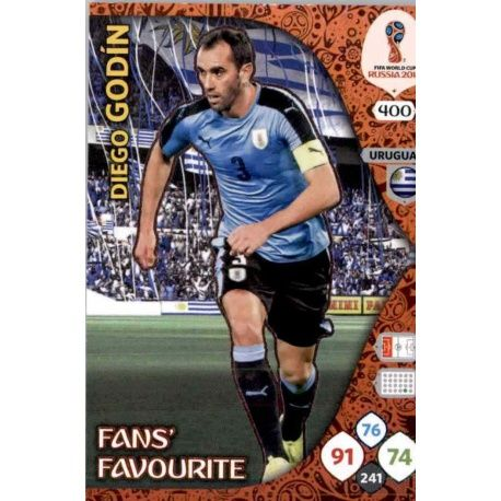 Diego Godin Fans Favourite 399 Adrenalyn XL World Cup 2018