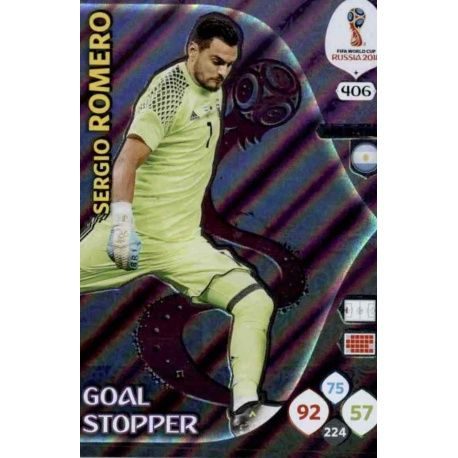 Sergio Romero Goal Stoppers 406 Adrenalyn XL World Cup 2018