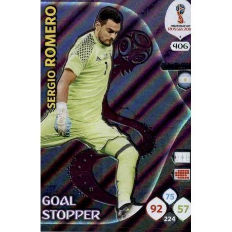 Sergio Romero Goal Stoppers 406 Adrenalyn XL Russia 2018