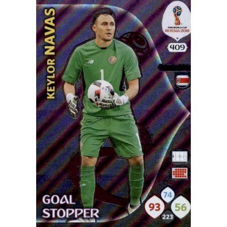 Keylor Navas Goal Stoppers 409 Adrenalyn XL Russia 2018