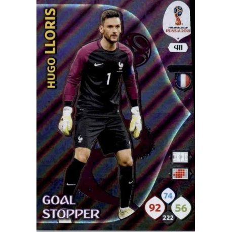 Hugo Lloris Goal Stoppers 411 Adrenalyn XL Russia 2018