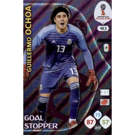 Guillermo Ochoa Goal Stoppers 413 Adrenalyn XL Russia 2018