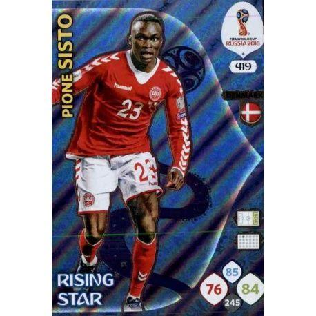 Pione Sisto Rising Stars 419 Adrenalyn XL World Cup 2018