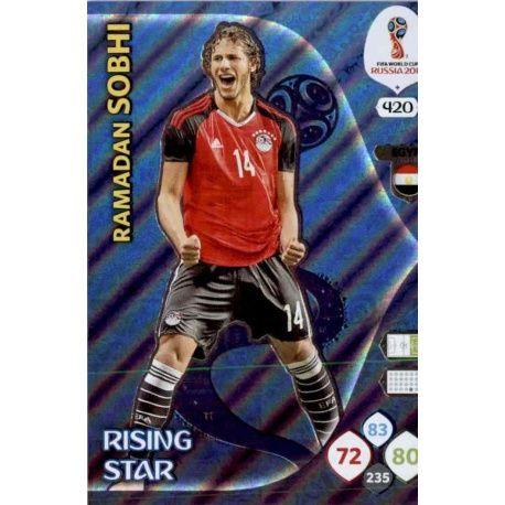 Ramadan Sobhi Rising Stars 420 Adrenalyn XL World Cup 2018