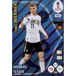 Timo Werner Rising Stars 425 Adrenalyn XL World Cup 2018