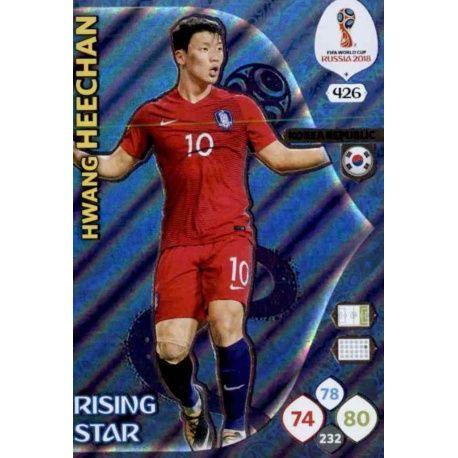 Hwang Hee Rising Stars 426 Adrenalyn XL World Cup 2018