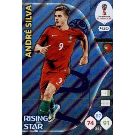 André Silva Rising Stars 430 Adrenalyn XL World Cup 2018
