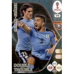 Edinson Cavani / Luis Suárez Double Trouble 441Adrenalyn XL Russia 2018