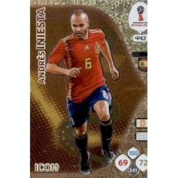 Andrés Iniesta Icons 442