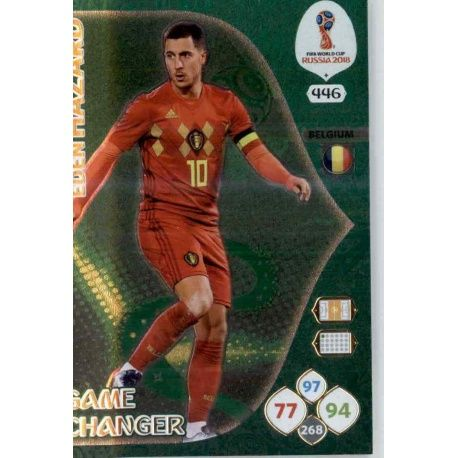 Eden Hazard Game Changers 446 Adrenalyn XL Russia 2018