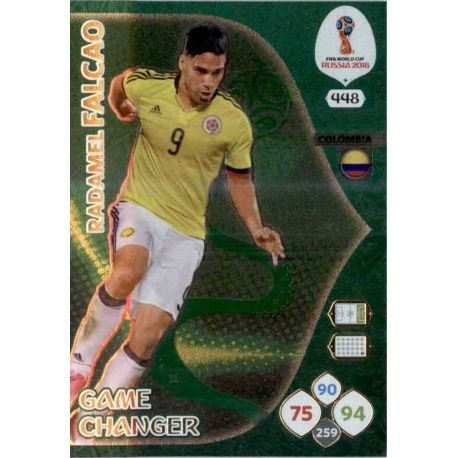 Radamel Falcao Game Changers 448 Adrenalyn XL Russia 2018