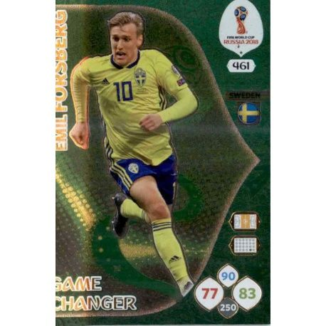 Emil Forsberg Game Changers 461 Adrenalyn XL World Cup 2018