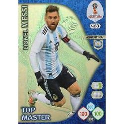 Lionel Messi Top Masters 463 Adrenalyn XL World Cup 2018