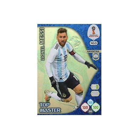 Lionel Messi Top Masters 463 Adrenalyn XL Russia 2018