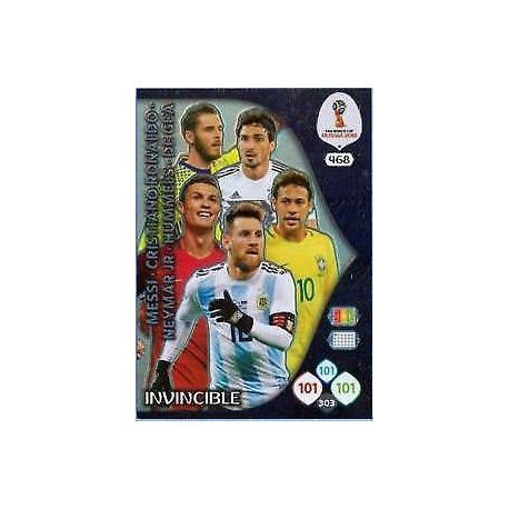 Invincible Card 468 Adrenalyn XL Russia 2018