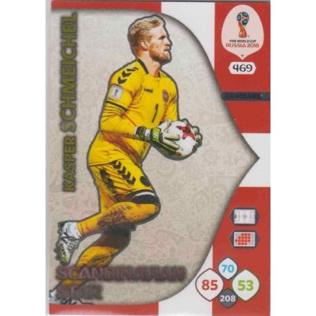 Kasper Schmeichel Scandinavian Stars 469 Adrenalyn XL World Cup 2018