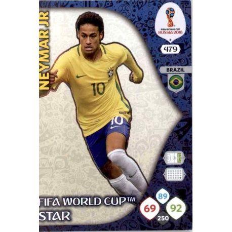 Neymar Jr Fifa World Cup Stars 479 Adrenalyn XL Russia 2018