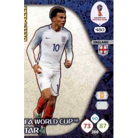 Dele Alli Fifa World Cup Stars 480 Adrenalyn XL Russia 2018