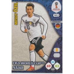 Mesut Özil Fifa World Cup Stars 483Adrenalyn XL Russia 2018