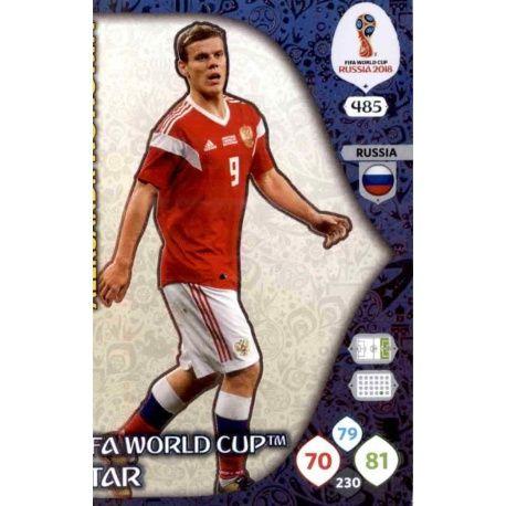 Aleksandr Kokorin Fifa World Cup Stars 485 Adrenalyn XL Russia 2018