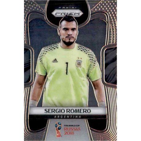 Sergio Romero Argentina 3 Prizm World Cup 2018