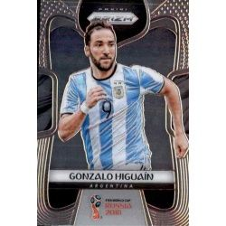 Gonzalo Higuain Argentina 5 Prizm World Cup 2018