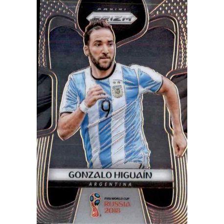 Gonzalo Higuain Argentina 5 Prizm World Cup 2018