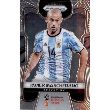 Javier Mascherano Argentina 6 Prizm World Cup 2018