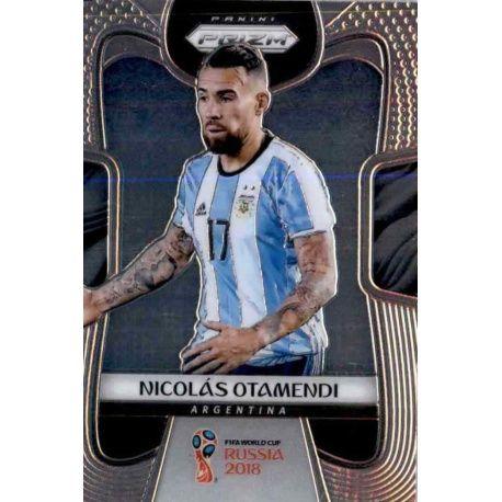Nicolas Otamendi Argentina 9 Prizm World Cup 2018