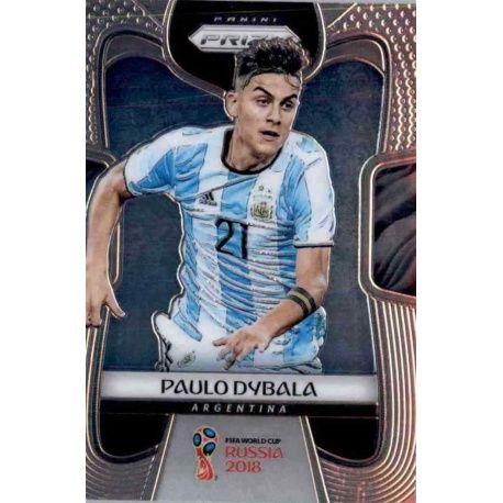 Paulo Dybala Argentina 10 Prizm World Cup 2018