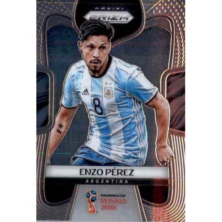 Enzo Perez Argentina 12 Prizm World Cup 2018