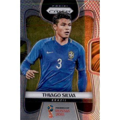 Thiago Silva Brazil 27 Prizm World Cup 2018