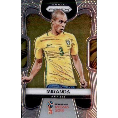 Miranda Brazil 34 Prizm World Cup 2018