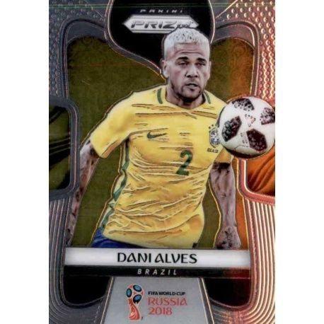 Dani Alves Brazil 35 Prizm World Cup 2018